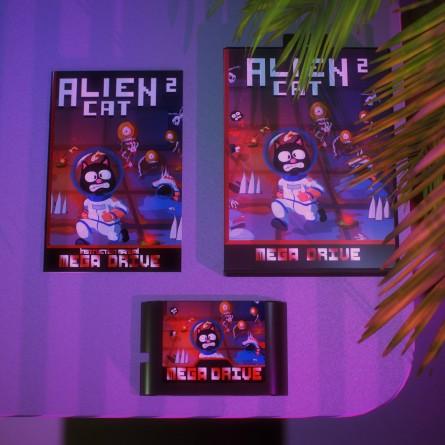 Alien Cat 2 - Mega Drive / Genesis