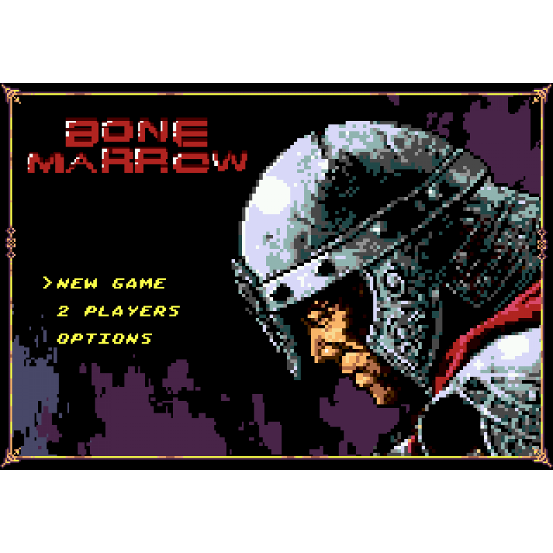 Bone Marrow - Mega Drive / Genesis  (PRE-ORDER)