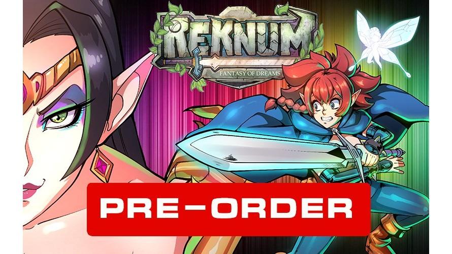 Reknum: Fantasy of Dreams - Mega Drive / Genesis