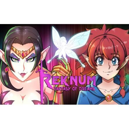 Reknum: Fantasy of Dreams  - Mega Drive / Genesis (PRE-ORDER)